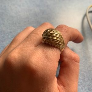 Vintage 14k gold ring, vintage from the 1980's